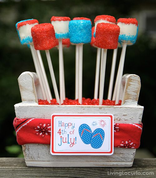 4 TH JULY MASHMALLOWS