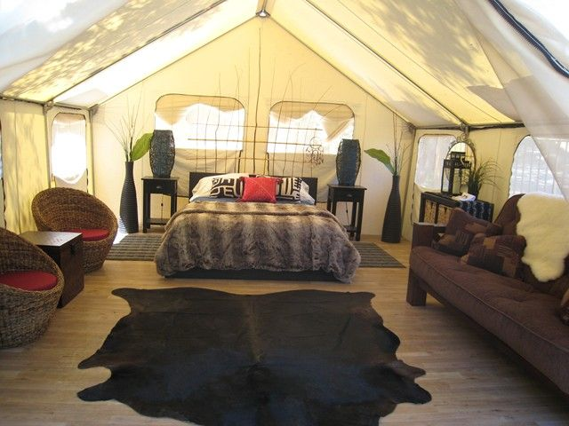CAMPING GLAMOUR TENT