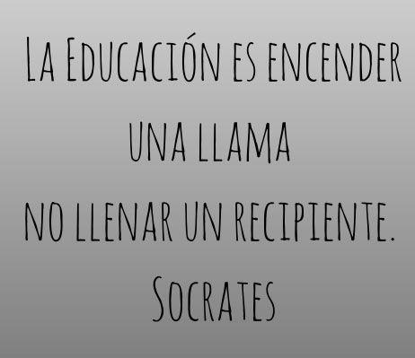 EDUCACION ENCENDER LLAMA