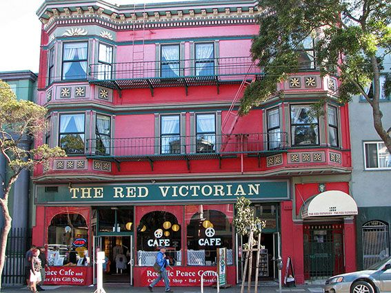 Haight Ashbury The_Red_Victorian_Hotel