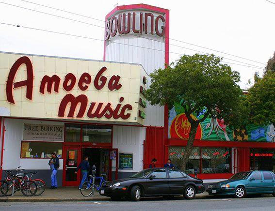 SAN FRANCISCO Amoeba-Music
