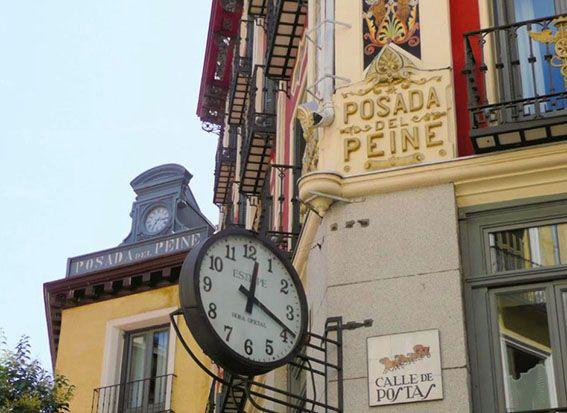 MADRID POSADA PEINE