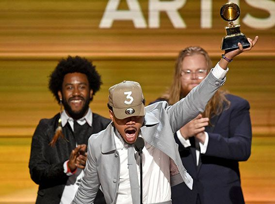 GRAMMYS CHANCE THE RAPPER