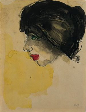MODERNISMO Nolde-Head-in-Profile-full-
