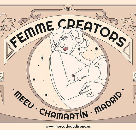 Femme Creators y JUSTMAD