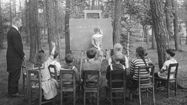Escuela al aire libre