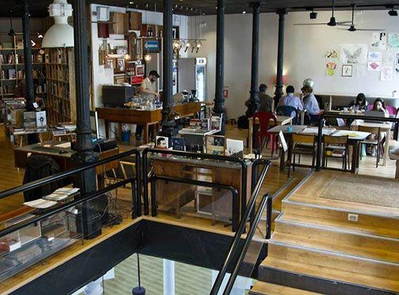 Librerías Café